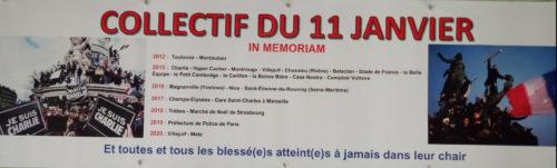 Collectif du 11 janvier –  Comité Laïcité République Pays de la Loire – Discours du 12 janvier 2020 à Nantes